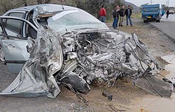 7 günde 44 kaza, 13 yaralı, 1 ölü