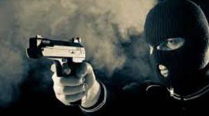 Banka aracına silahlı soygun