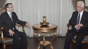 Cumhurbaşkanı Eroğlu, BM özel danışmanı EIDE ile görüştü