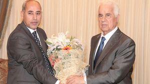 Cumhurbaşkanı Eroğlu, Midyatlılar Bütünleşme ve Yardımlaşma Derneği'ni kabul etti