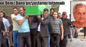 Emine Dana, Lefkoşa Mezarlığı'nda toprağa verildi
