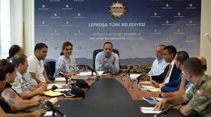 ERC için basın toplantısı