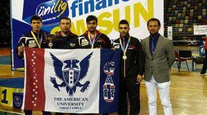 GAÜ masa tenisinde Türkiye ikincisi