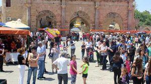 Gazimağusa'da renkli görüntüler