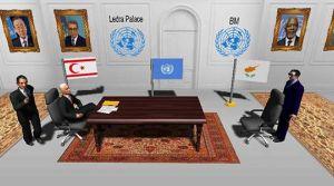Kıbrıs müzakerelerinin bilgisayar oyunu yapıldı