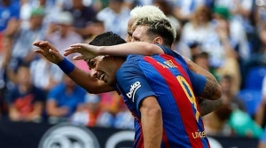 MSN yine Barça'ladı