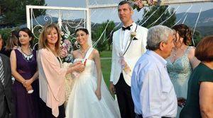 Suzan ile Hasan evlendi