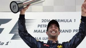 Zafer Daniel Ricciardo'nun