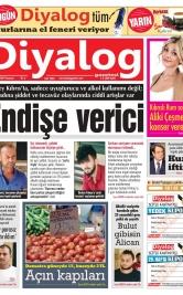 Diyalog Gazetesi - Kıbrıs'ta Haberin Merkezi - 19.08.2019 Manşeti