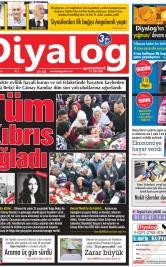 Diyalog Gazetesi - Kıbrıs'ta Haberin Merkezi - 09.12.2018 Manşeti