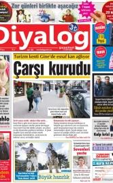 Diyalog Gazetesi - Kıbrıs'ta Haberin Merkezi - 17.02.2019 Manşeti