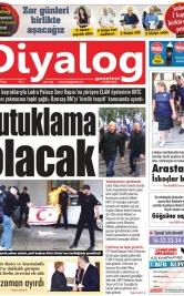 Diyalog Gazetesi - Kıbrıs'ta Haberin Merkezi - 17.11.2019 Manşeti