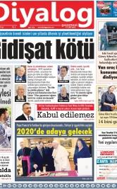 Diyalog Gazetesi - Kıbrıs'ta Haberin Merkezi - 19.11.2019 Manşeti