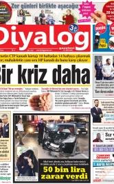 Diyalog Gazetesi - Kıbrıs'ta Haberin Merkezi - 24.03.2019 Manşeti