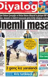 Diyalog Gazetesi - Kıbrıs'ta Haberin Merkezi - 24.04.2019 Manşeti