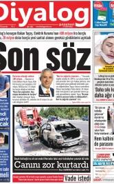 Diyalog Gazetesi - Kıbrıs'ta Haberin Merkezi - 21.08.2019 Manşeti