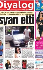 Diyalog Gazetesi - Kıbrıs'ta Haberin Merkezi - 22.08.2019 Manşeti