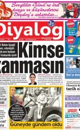 Diyalog Gazetesi - Kıbrıs'ta Haberin Merkezi - 14.02.2019 Manşeti