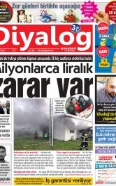Diyalog Gazetesi - Kıbrıs'ta Haberin Merkezi - 15.02.2019 Manşeti