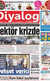 Diyalog Gazetesi - Kıbrıs'ta Haberin Merkezi - 14.09.2019 Manşeti