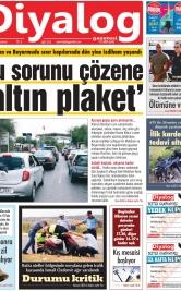 Diyalog Gazetesi - Kıbrıs'ta Haberin Merkezi - 16.09.2019 Manşeti
