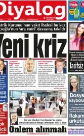 Diyalog Gazetesi - Kıbrıs'ta Haberin Merkezi - 17.09.2021 Manşeti