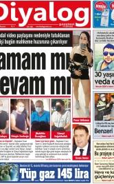 Diyalog Gazetesi - Kıbrıs'ta Haberin Merkezi - 25.10.2021 Manşeti