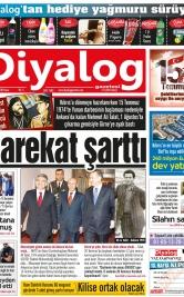 Diyalog Gazetesi - Kıbrıs'ta Haberin Merkezi - 15.07.2018 Manşeti