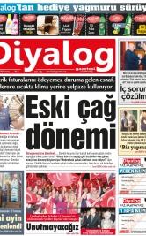 Diyalog Gazetesi - Kıbrıs'ta Haberin Merkezi - 16.07.2018 Manşeti