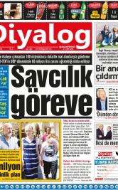 Diyalog Gazetesi - Kıbrıs'ta Haberin Merkezi - 17.07.2018 Manşeti