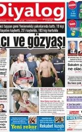 Diyalog Gazetesi - Kıbrıs'ta Haberin Merkezi - 19.07.2018 Manşeti