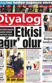 Diyalog Gazetesi - Kıbrıs'ta Haberin Merkezi - 12.08.2018 Manşeti