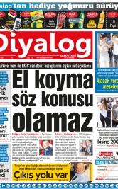 Diyalog Gazetesi - Kıbrıs'ta Haberin Merkezi - 14.08.2018 Manşeti