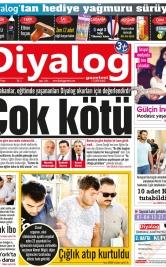 Diyalog Gazetesi - Kıbrıs'ta Haberin Merkezi - 23.09.2018 Manşeti