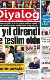 Diyalog Gazetesi - Kıbrıs'ta Haberin Merkezi - 26.09.2018 Manşeti