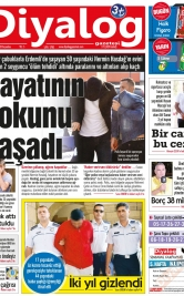 Diyalog Gazetesi - Kıbrıs'ta Haberin Merkezi - 18.10.2018 Manşeti