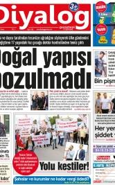 Diyalog Gazetesi - Kıbrıs'ta Haberin Merkezi - 19.10.2018 Manşeti