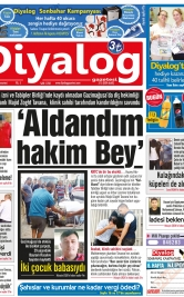 Diyalog Gazetesi - Kıbrıs'ta Haberin Merkezi - 20.10.2018 Manşeti