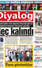 Diyalog Gazetesi - Kıbrıs'ta Haberin Merkezi - 22.10.2018 Manşeti