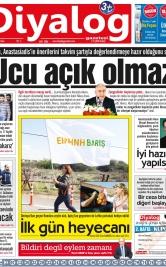 Diyalog Gazetesi - Kıbrıs'ta Haberin Merkezi - 13.11.2018 Manşeti