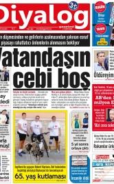 Diyalog Gazetesi - Kıbrıs'ta Haberin Merkezi - 14.11.2018 Manşeti