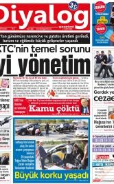 Diyalog Gazetesi - Kıbrıs'ta Haberin Merkezi - 15.11.2018 Manşeti