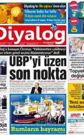 Diyalog Gazetesi - Kıbrıs'ta Haberin Merkezi - 17.11.2018 Manşeti
