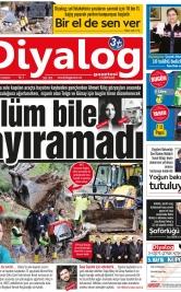 Diyalog Gazetesi - Kıbrıs'ta Haberin Merkezi - 08.12.2018 Manşeti