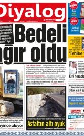 Diyalog Gazetesi - Kıbrıs'ta Haberin Merkezi - 11.12.2018 Manşeti