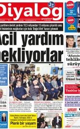 Diyalog Gazetesi - Kıbrıs'ta Haberin Merkezi - 13.12.2018 Manşeti