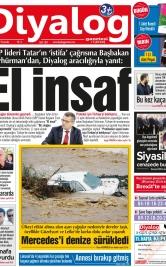 Diyalog Gazetesi - Kıbrıs'ta Haberin Merkezi - 17.01.2019 Manşeti