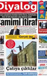 Diyalog Gazetesi - Kıbrıs'ta Haberin Merkezi - 18.01.2019 Manşeti