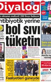 Diyalog Gazetesi - Kıbrıs'ta Haberin Merkezi - 23.01.2019 Manşeti