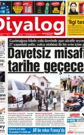 Diyalog Gazetesi - Kıbrıs'ta Haberin Merkezi - 18.04.2018 Manşeti